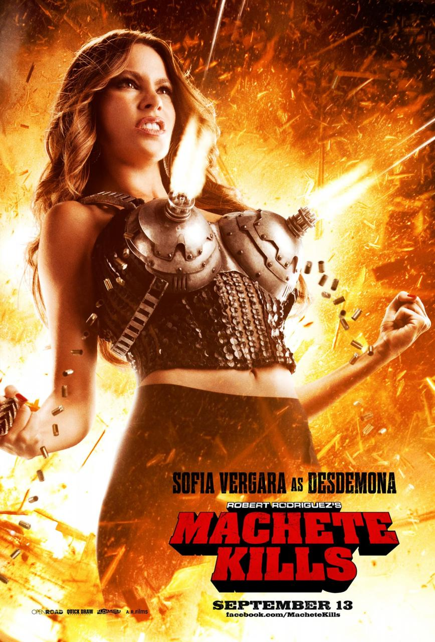 Machete Kills Sofia Vergara
