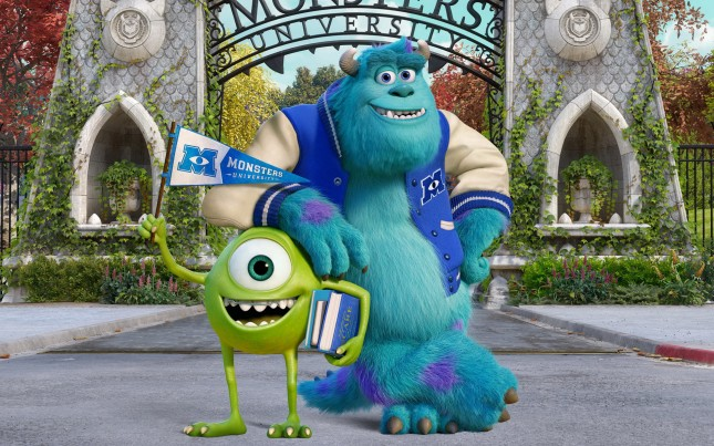 monsters university wallpaper fondo de pantalla