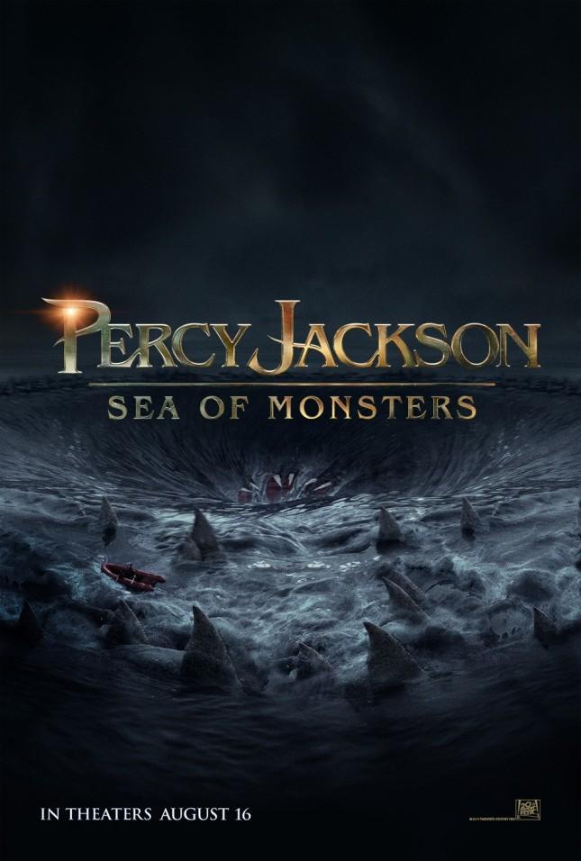 pecy jackson mar de monstruos poster