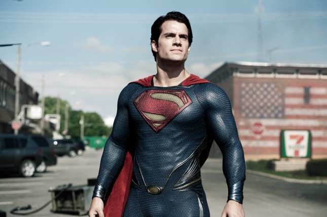 superman hombre de acero henry cavill