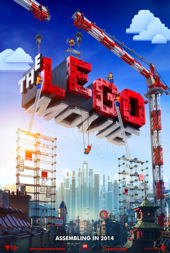 lego pelicula poster