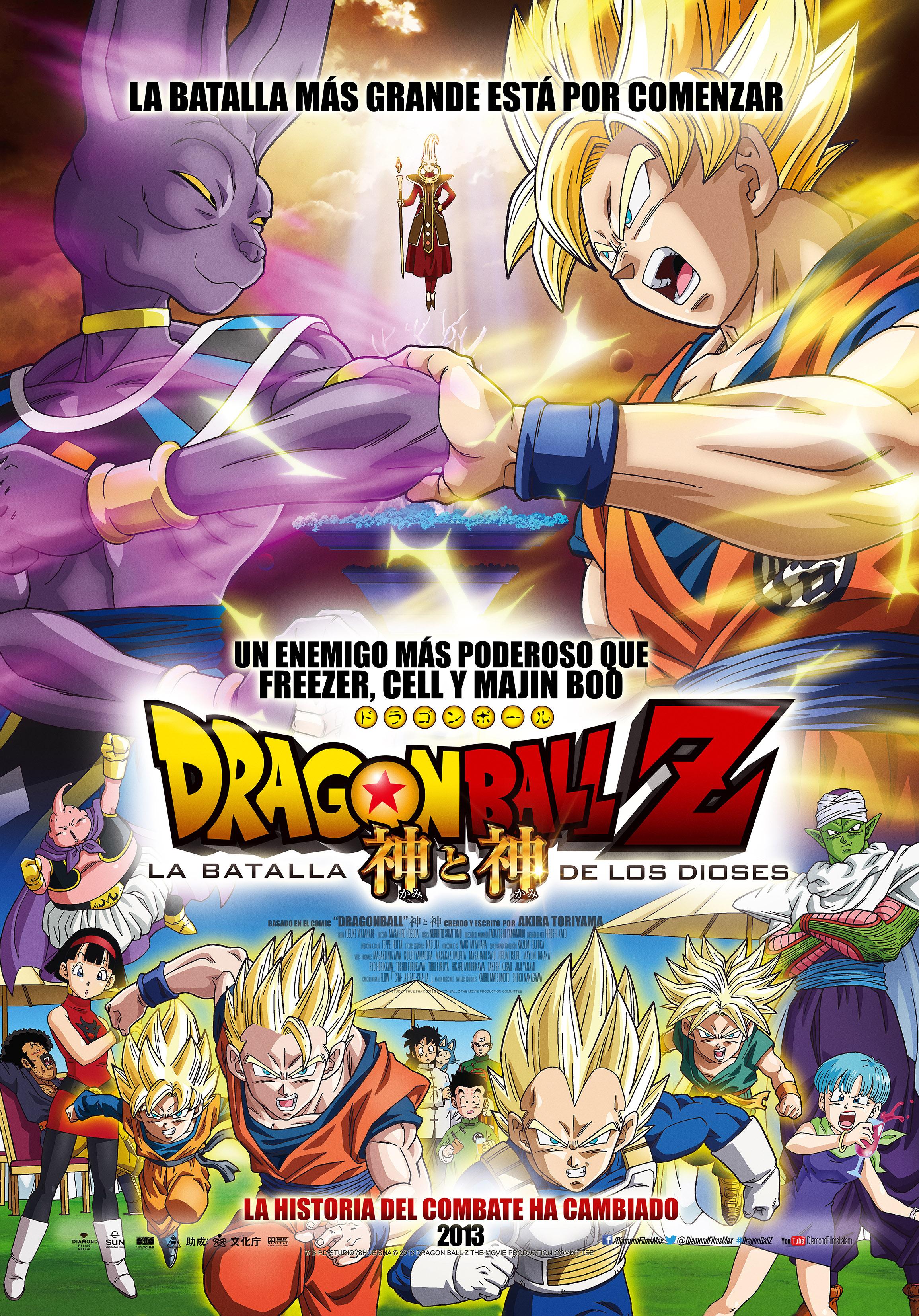 Ver Y Descargar Pelicula De Dragon Ball Z La Batalla De Los Dioses