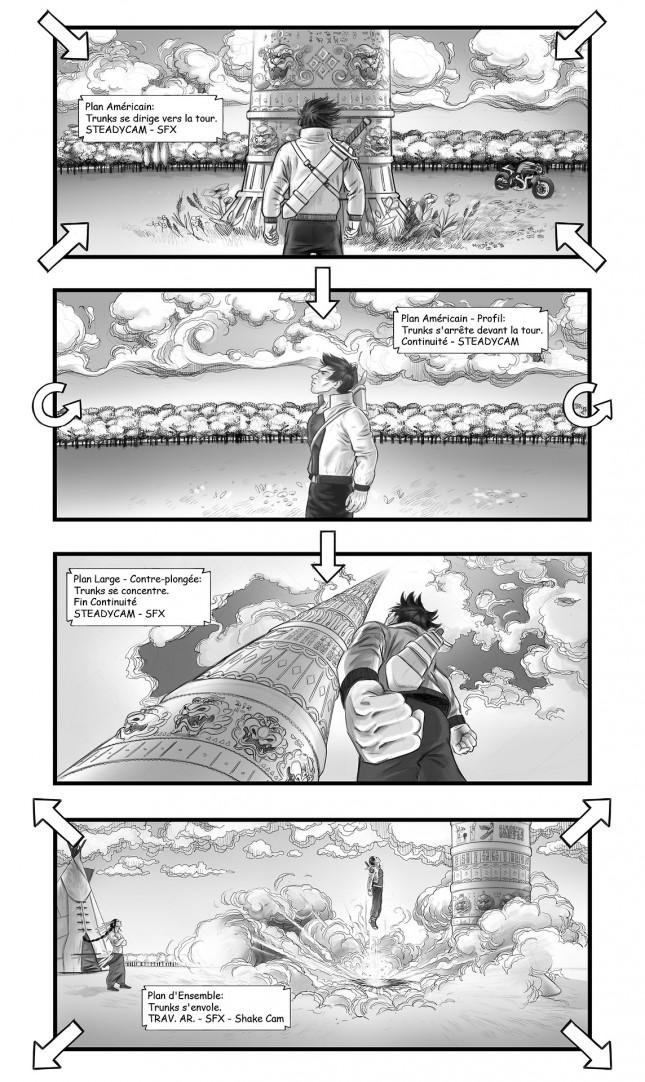 dragon ball z the fall of men storyboard