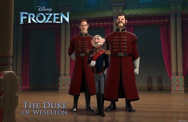 frozen duke of weselton aventura congelada
