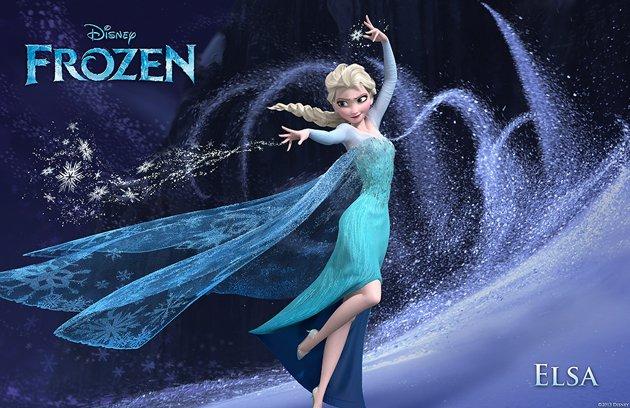 frozen elsa aventura congelada
