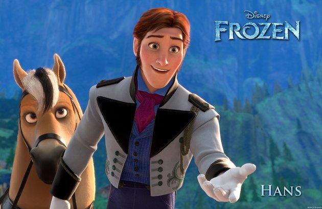 frozen hans aventura congelada