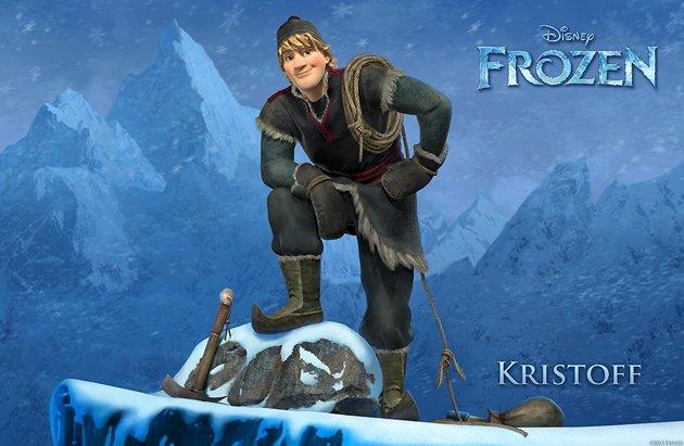 frozen kristoff aventura congelada
