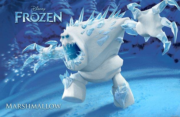 frozen marshmallow aventura congelada