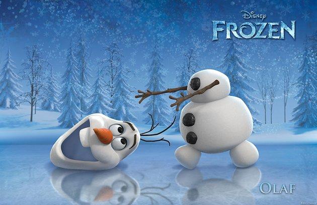 frozen olaf aventura congelada