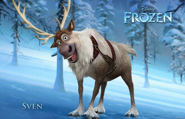 frozen sven aventura congelada