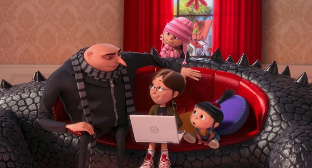 gru margo edith agnes mi villano favorito 2