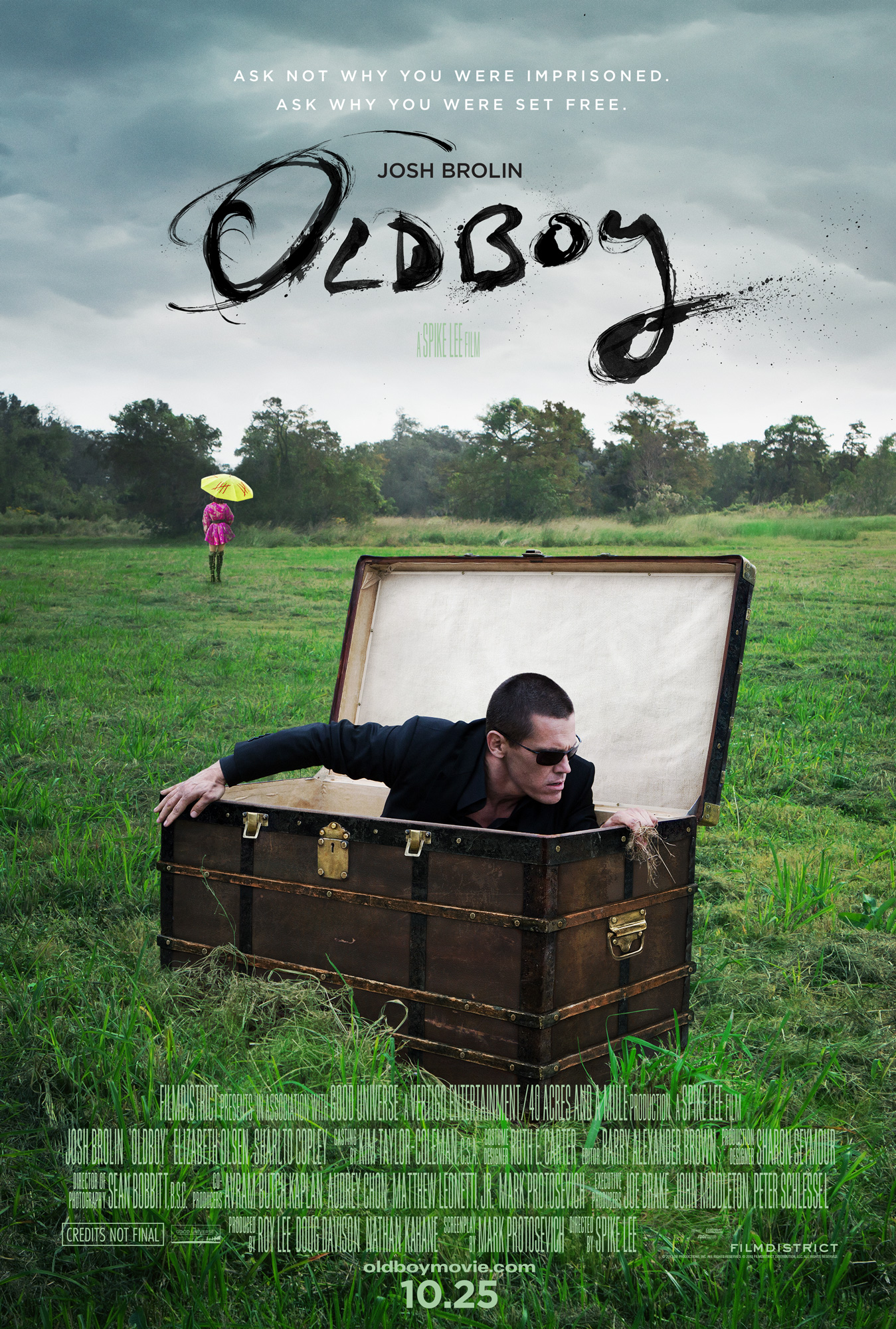 oldboy poster remake