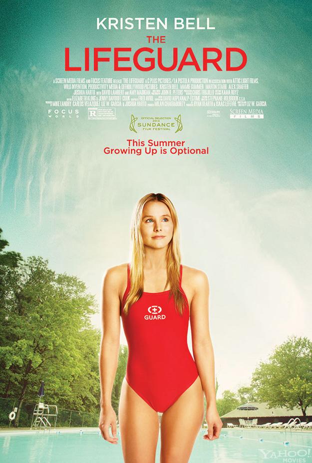 kristen bell salvavidas lifeguard poster