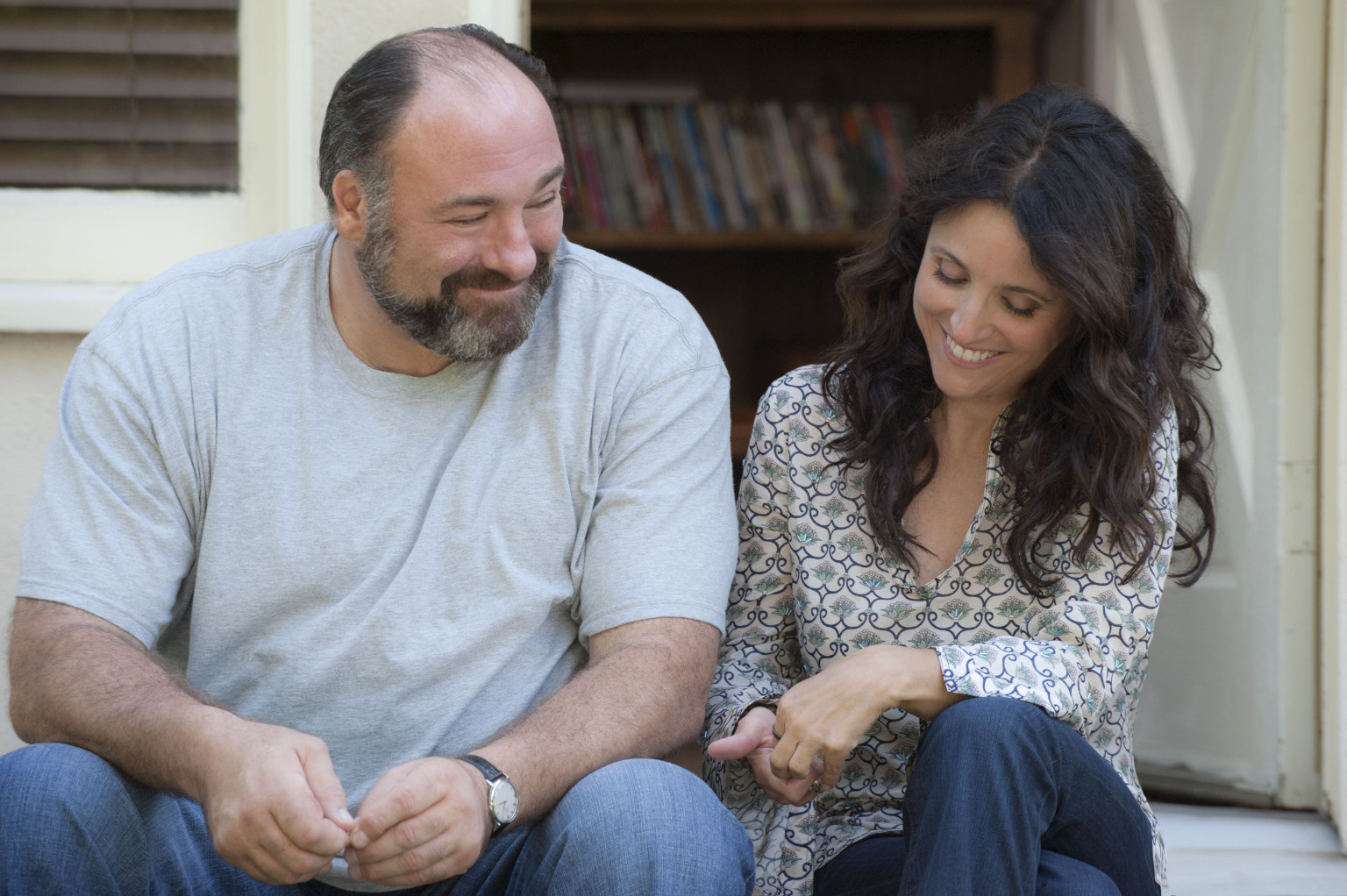 enough said james gandolfini julia Louis Dreyfuss