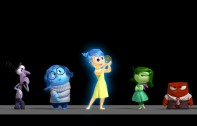 cinco emociones inside out pixar