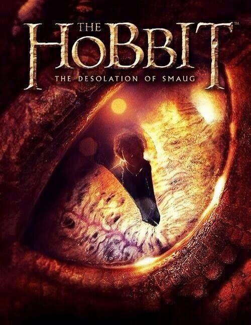 el hobbit desolacion smaug poster