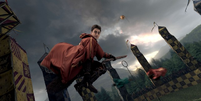 quidditch harry potter deporte magos