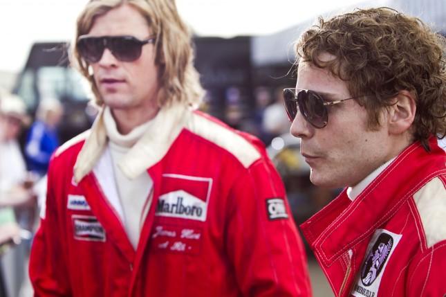 James Hunt y Niki Lauda