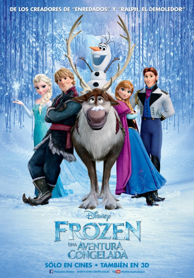 frozen aventura congelada poster