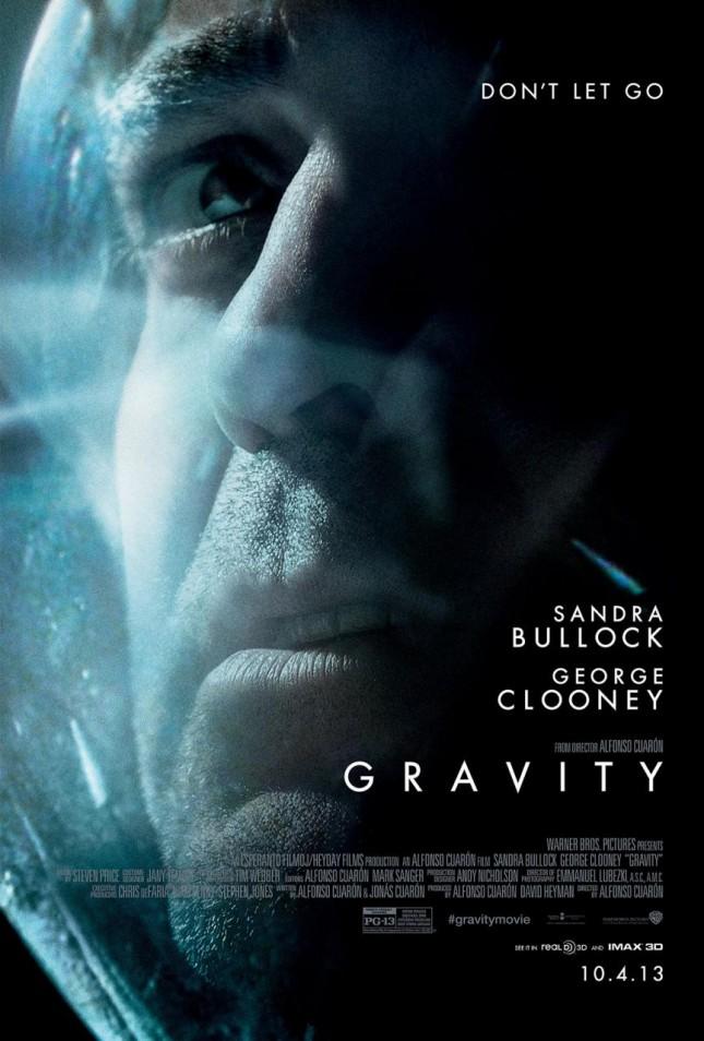 gravedad george clooney poster