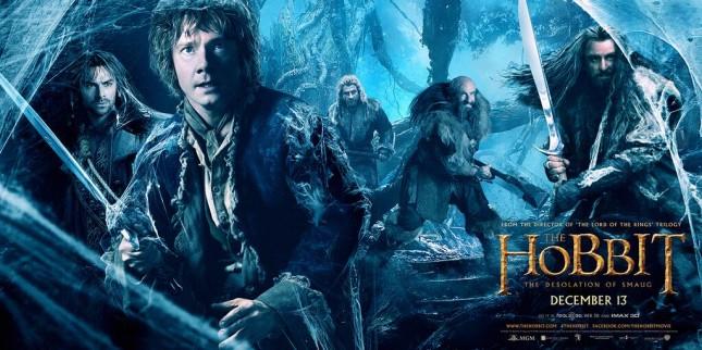 el hobbit la desolacion de smaug banner