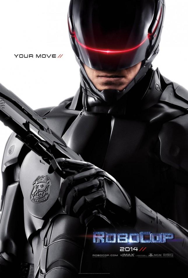 robocop poster remake //