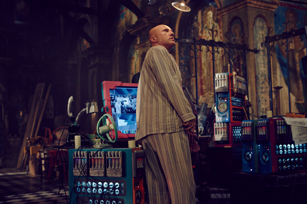 christoph waltz pijama the zero theorem