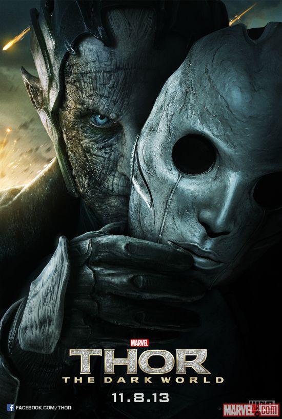 thor un mundo oscuro malekith poster
