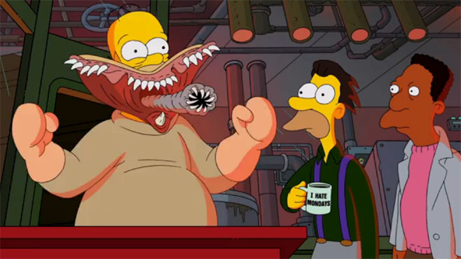 Guillermo del Toro Los Simpsons