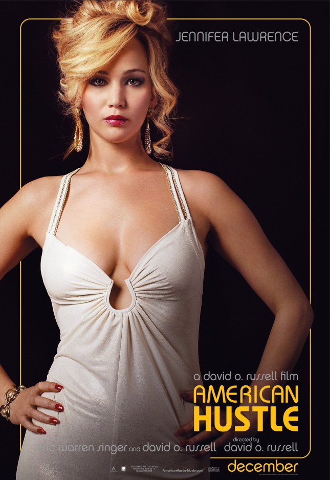 american hustle poster jennifer lawrence