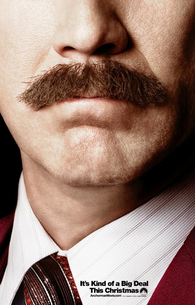 anchorman 2 legend continues poster