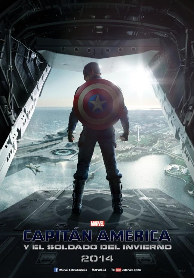 capitan america soldado del invierno poster español