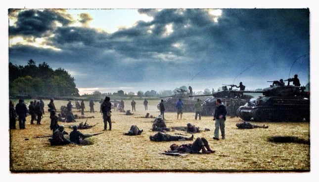 fury set david ayer