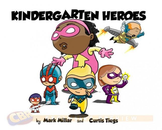 kindergarten heroes mark millar