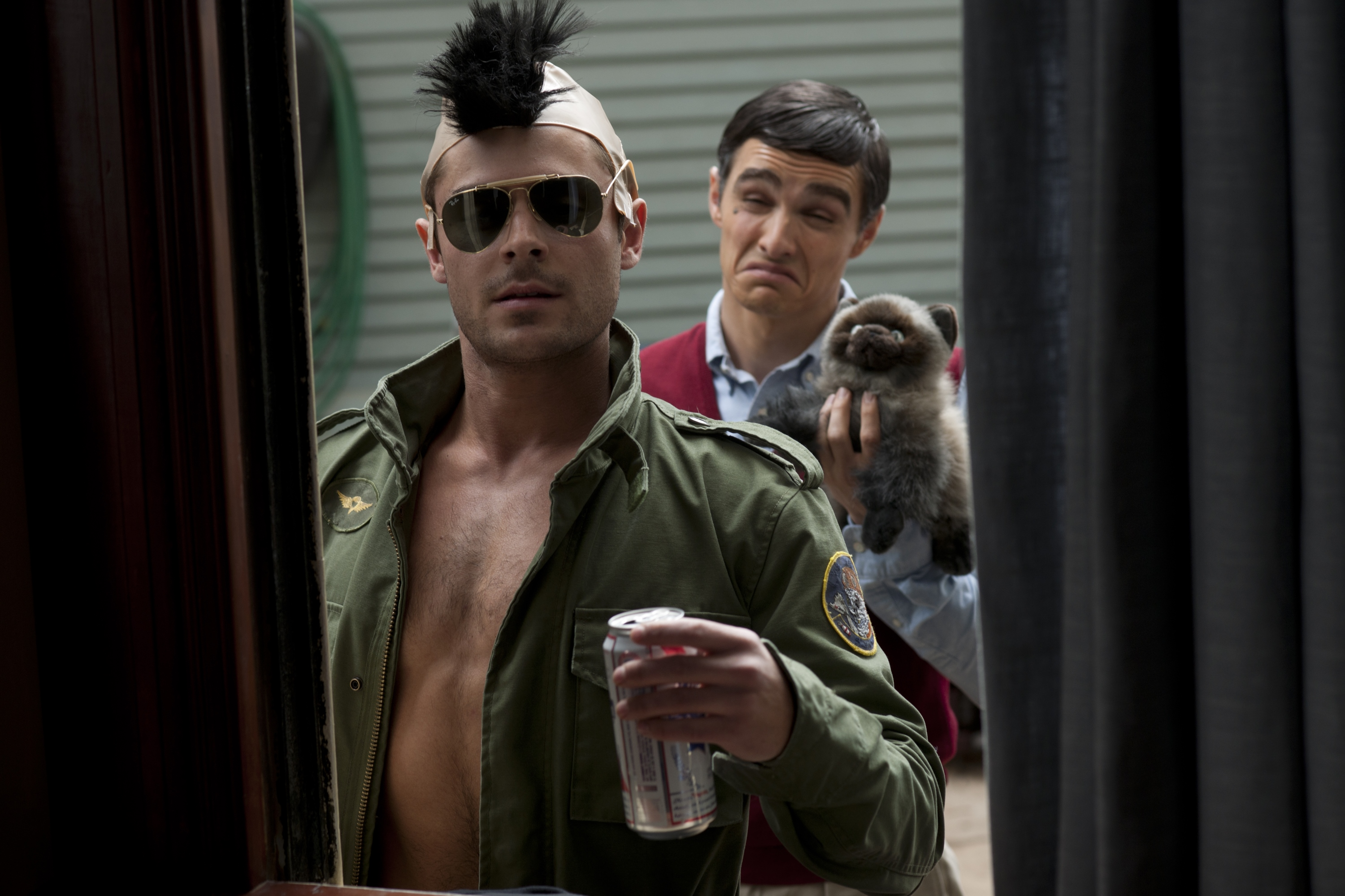 zac efron neighbors travis