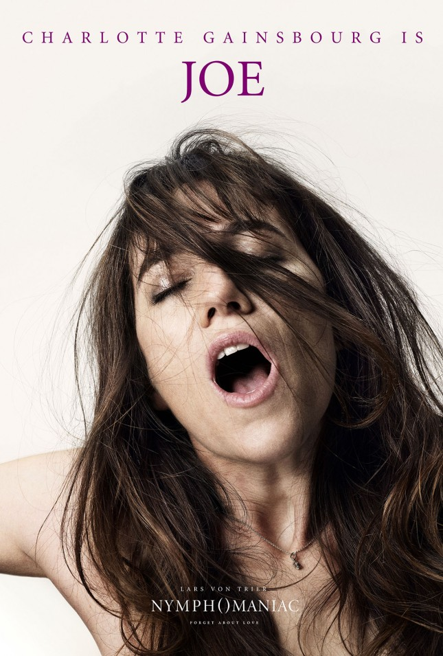 nymphomaniac poster charlotte gainsbourg