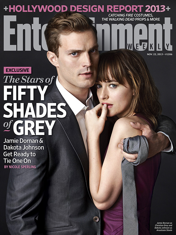 cincuenta sombras de grey dakota johnson jamie dornan portada ew