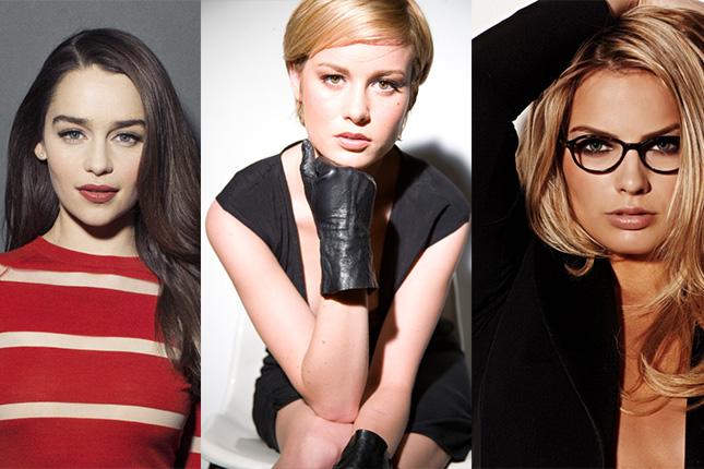 Emilia Clarke, Brie Larson y Margot Robbie terminator