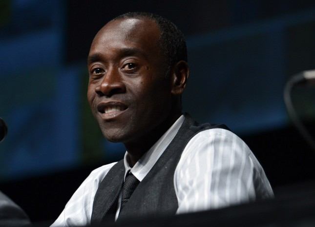 Don Cheadle Comic-Con International 2012 - Marvel Studios Panels