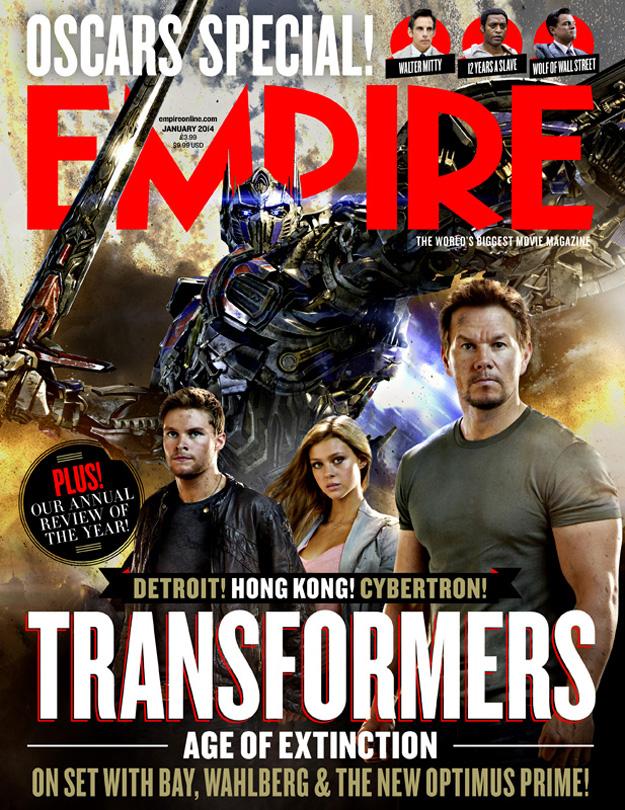 optimus prime transformers portada empire