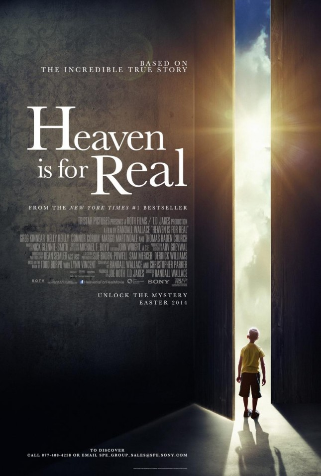 heaven is for real poster