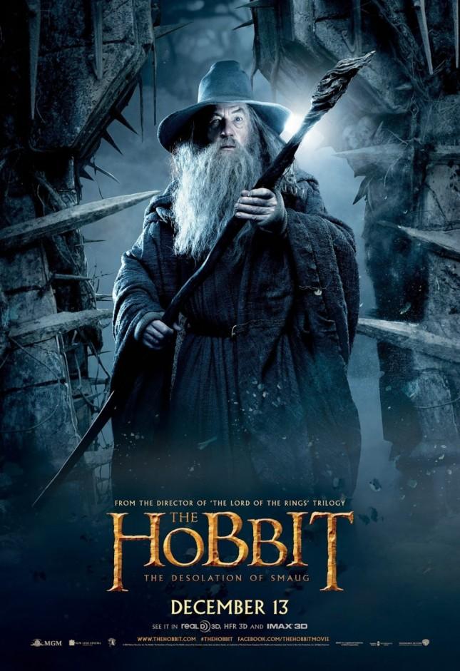 gandalf ian mckellen hobbit desolación de smaug