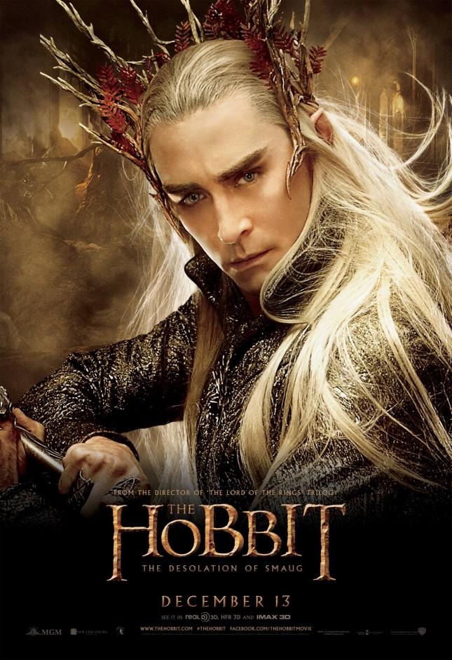 thranduil lee pace hobbit desolación de smaug