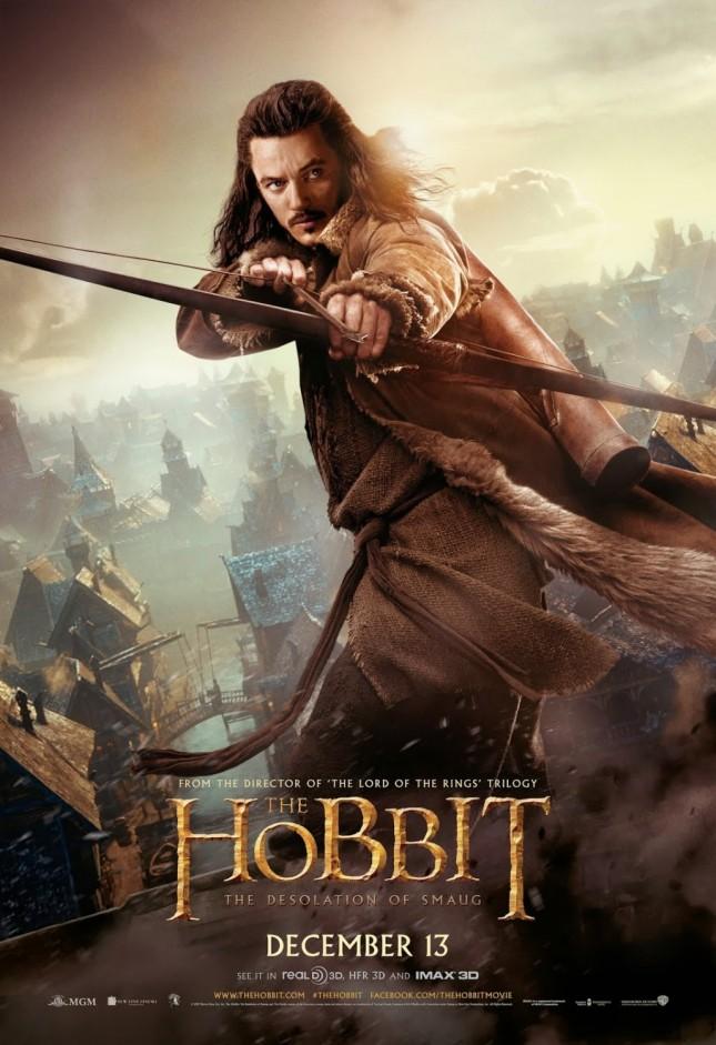 bard luke evans hobbit desolación de smaug