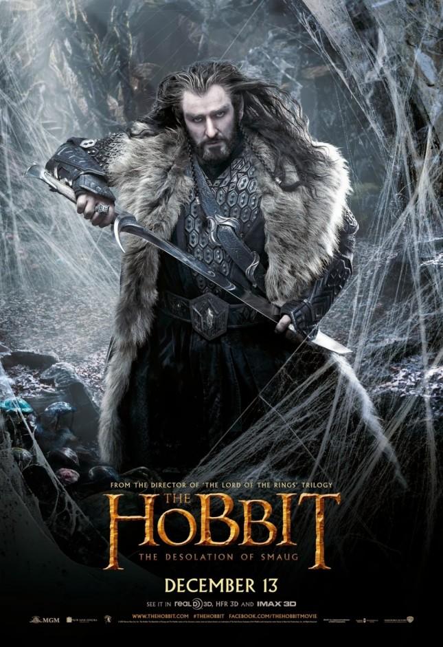thorin richard armitage hobbit desolación de smaug