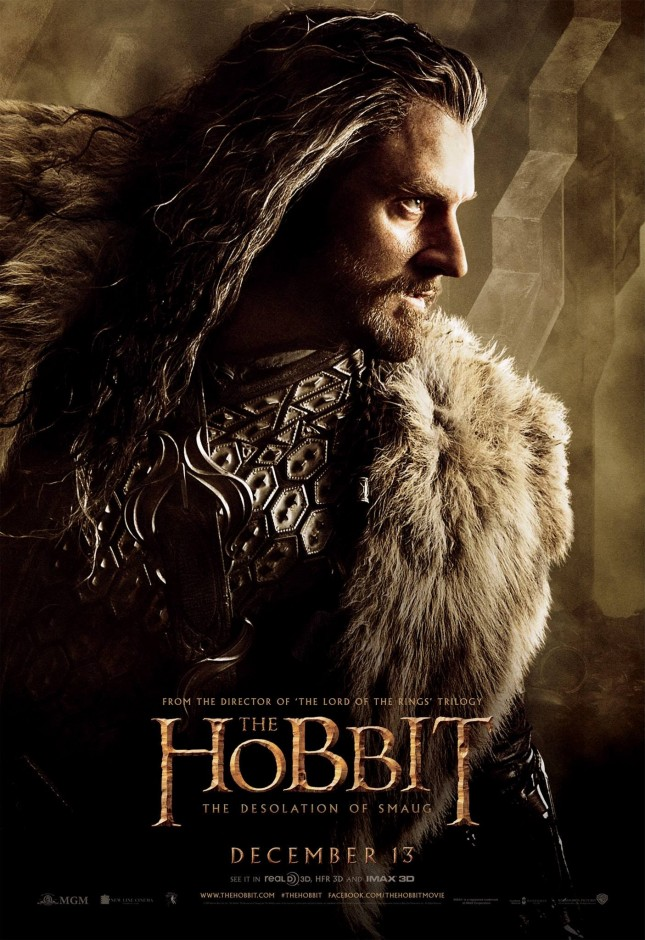 thorin richard armitage hobbit desolación de smaug