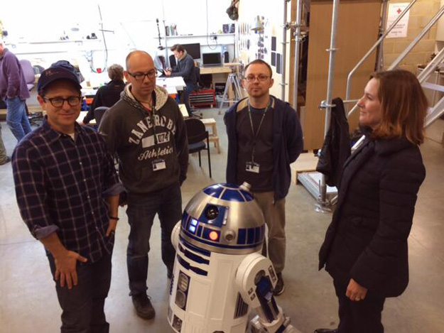 r2d2 star wars episodio vii jj abrams