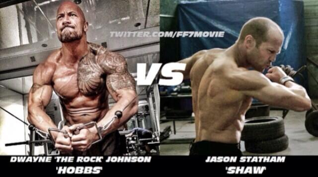 johnson vs statham rapidos furiosos 7