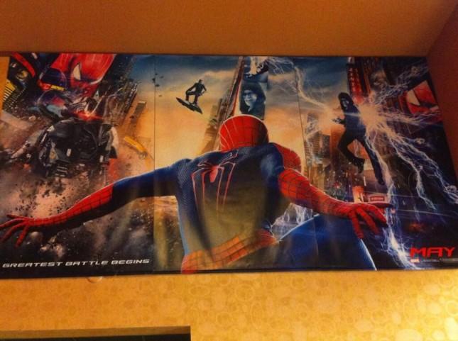 sorprendente hombre araña 2 poster epico
