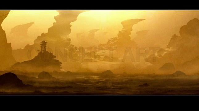 blizzcon warcraft arte conceptual
